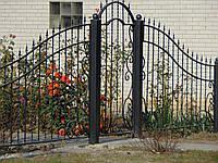 Кованый забор П-33, фото 1