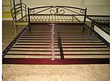Кровать металлическая Верона - 1 / Verona - 1 односпальная 80 (Метакам) 860х2080х720 мм, фото 6
