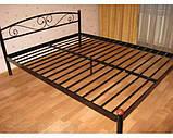 Кровать металлическая Верона - 1 / Verona - 1 односпальная 80 (Метакам) 860х2080х720 мм, фото 7