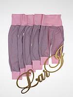 """Штанишки для малышей """"Матроскин"""" (0-12 мес), розовые, фото 1"""