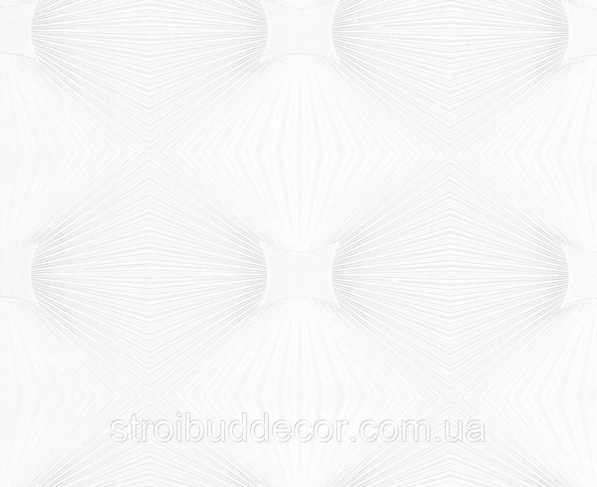 Виниловые обои 0,53*10,05 Versailles потолочные белые
