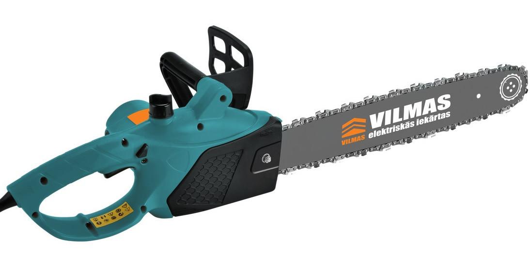 Электропила Vilmas 1400-ECS-350 1 Шинь + 1 Цепь. Пила цепная Вилмас