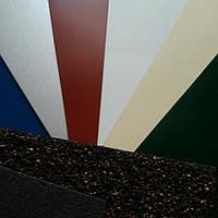 Гладкий лист стальной оцинкованный марки  DX51D - 0.45 мм с полимерным покрытием RAL глянец- RALмат Корея