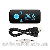 Беспроводной адаптер Bluetooth-приемник X6, фото 2