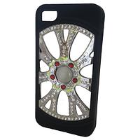 Накладка iPhone 4G/4S украшенная камнями Своровски, фото 1