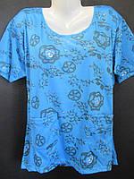 Прямые футболки на лето ,яркого цвета., фото 1