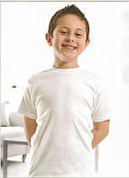 Футболка детская Ozkan 7-8 лет белая