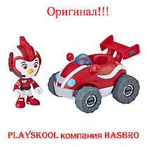 Игрушка Отважные птенцы Крылатый патруль Род с турбо-внедорожник Top Wing Rod Figure & Vehicle