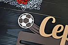 Медальница планкой именная футбол, фото 3
