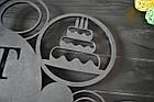 Часы настенные именные, кондитеру, повару, пекарю, с логотипом, фото 4