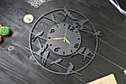 """Часы настенные """"Ласточки"""" , часы с птичками, часы из дерева, фото 2"""