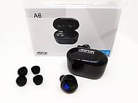Беспроводные Bluetooth наушники Air Twins A6 TWS  с боксом для зарядки