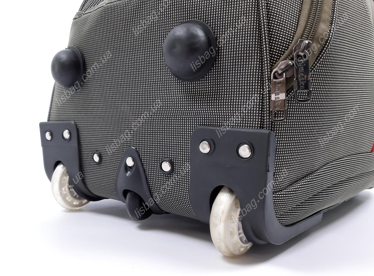 4e6a65a2cf0d Средняя сумка на 3х колесах Omaska прочная L (60 л) Оливковая (57*33*32)  Чемодан дорожная сумка на колесах, цена 764 грн., купить в Умани — Prom.ua  ...
