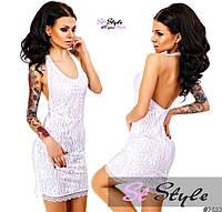 Гипюровое платье 641