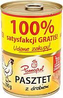 Паштет куриный 100% Papamol Польша 390г