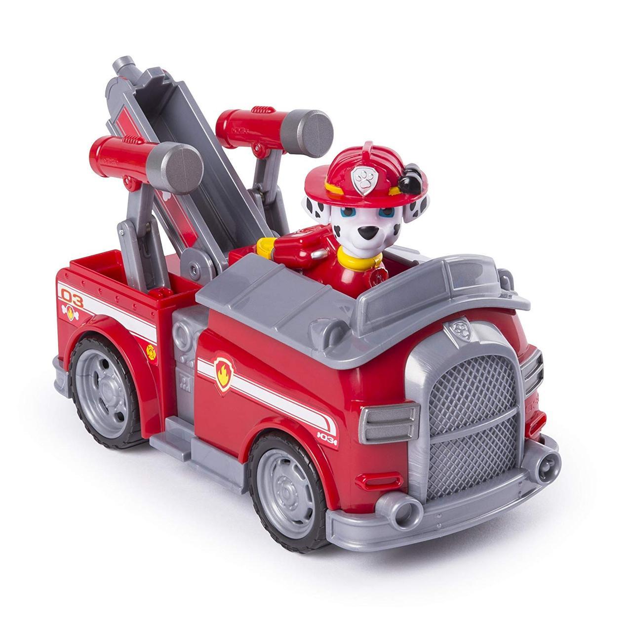 Игрушка Щенячий патруль Paw Patrol Маршал и пожарная машина трансформируется