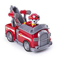 Игрушка Щенячий патруль Paw Patrol Маршал и пожарная машина трансформируется, фото 1