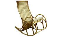 """Кресло-качалка """"Каприз"""". Плетеная мебель из ротанга"""