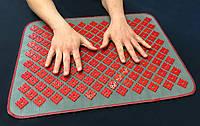 Массажный коврик аппликатор Кузнецова/Ляпко массажер для спины/ног 158 VMSport