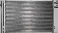 Радиатор кондиционера VW Golf 6 580*400 (с осушителем)