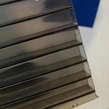 Поликарбонат - сотовый бронза прозрачный 8 мм  лист 2050/6000 Полигаль стандарт.