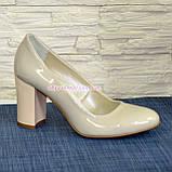 """Женские лаковые классические туфли на каблуке. ТМ """"Maestro"""", фото 2"""