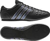 Кроссовки мужские adidas New Taekwondo V23170 (черные, кожаные, для тренировок, весна/осень, бренд адидас)