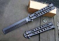 Стильный аксессуар для мужественных современных мужчин, расчёска Benchmade, в форме ножа-бабочки