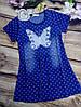 Джинсовые платья для девочек на 7-10лет.  - Фото