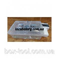 Инкубатор для яиц Курочка Ряба 56 автомат пластик с регулятором влажности