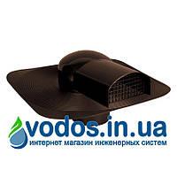 Аэратор (вентилятор) под битумную черепицу (мягкую кровлю) для наклонных крыш 3502 - коричневый