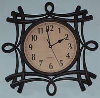 Фигурные настенные часы (51х51х5 см.)