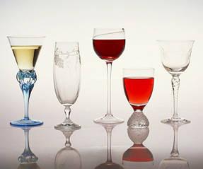 Стеклянная посуда для напитков