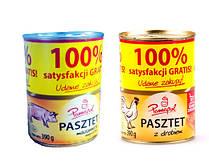 Паштет свиной Papamol 100% Польша 390г