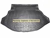 Полиуретановый коврик для багажника Nissan X-Trail Т31 (без органайзер) с 2007-