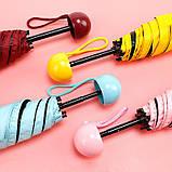 Зонтик - капсула. Компактный зонт. Мини зонтик в футляре, фото 10