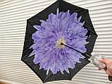 Умный зонт наоборот Хризантема, фото 3