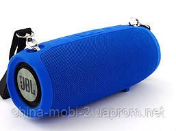 JBL XTREME BT-6000 16W копия, портативная колонка с Bluetooth FM MP3, синяя, фото 2