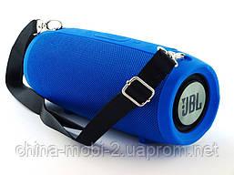 JBL XTREME BT-6000 16W копия, портативная колонка с Bluetooth FM MP3, синяя, фото 3