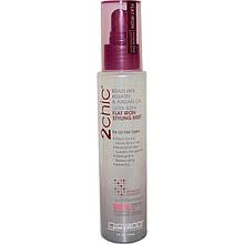 "Термозащита для волос Giovanni, 2chic ""Ultra-Sleek Flat Iron Styling Mist"" кератин и аргановое масло (118 мл)"