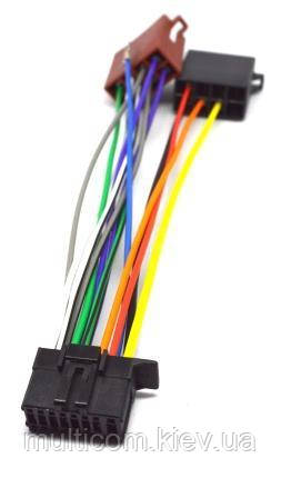 01-17-010. Переходник автомагнитолы PIONEER - ISO (453023), с кабелем 20см