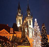 Новый год и Рождество  в Праге
