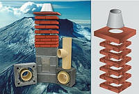 Керамические дымоходы ICOPAL WULKAN CI-eko 160 мм