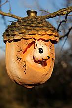 Садовая фигура Навес: Желудь  с белкой