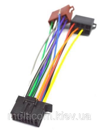 01-17-013. Переходник автомагнитолы SONY - ISO (456008), с кабелем 20см