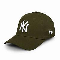 Бейсболка NY зеленая, кепка New York