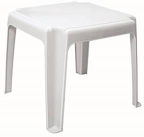Стол к шезлонгу белый (Papatya-TM)