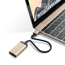 Satechi Type-C HDMI Adapter Gold (ST-TC4KHAG), фото 2