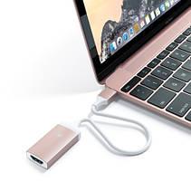 Satechi Type-C HDMI Adapter Rose Gold (ST-TC4KHAR), фото 3