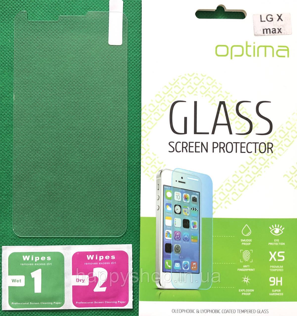Защитное стекло LG X Max K240H